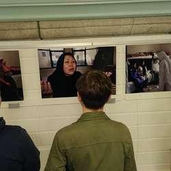 Accueil d'une exposition de Photoreporter à Saint-Pierre!