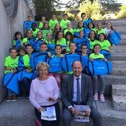 Des sacs de sport offerts aux 6èmes par le département des Côtes d''Armor