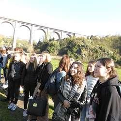 Journée pastorale lycée: marche vers Tressaint