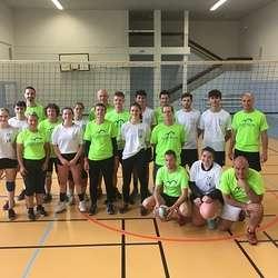 Match de volley profs-élèves