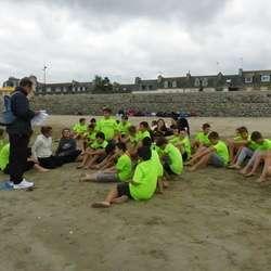 Tournoi de sandball à Binic