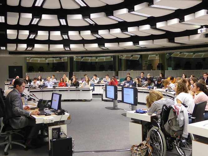 Voyage européen à Bruxelles terminales Europe p1000892