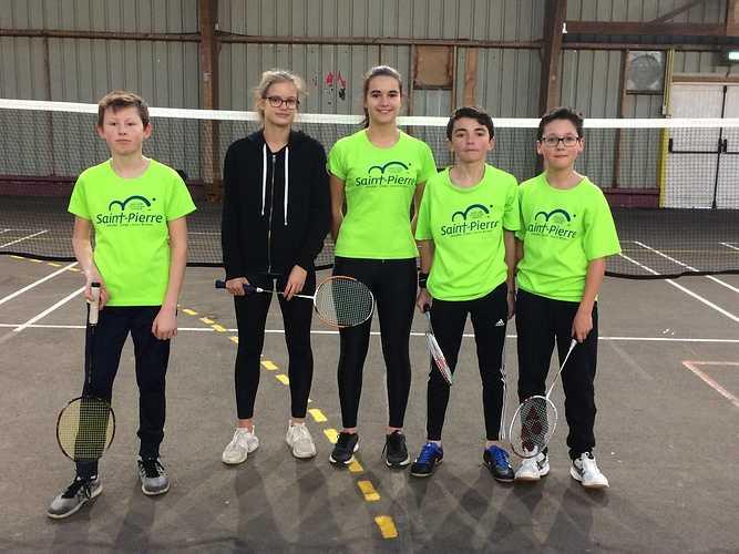 Championnat départemental de badminton Benjamins/minimes 0