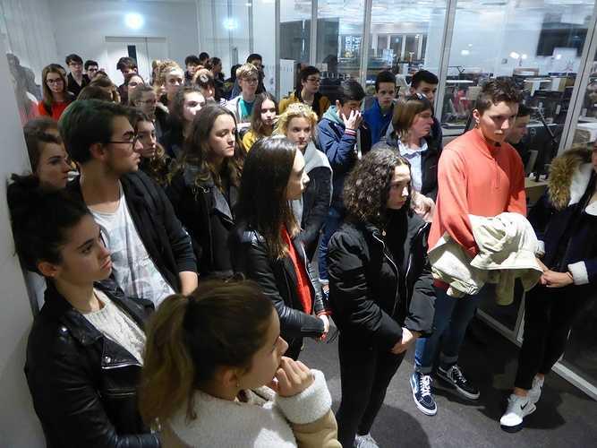Sortie Ouest France lycée p1000939