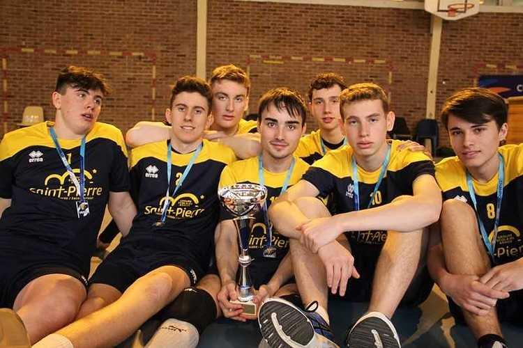 Les juniors garçons, vice-champions de France UGSEL! jgfrance2018marcqenbaroeul2copier
