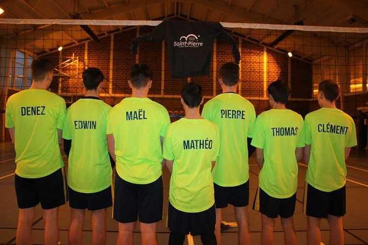Les juniors garçons, vice-champions de France UGSEL! jgfrance2018marcqenbaroeul31copier