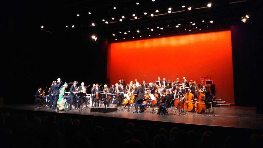 Concert A. Kidjo / orchestre symphonique à la Passerelle pour l''option musique 0