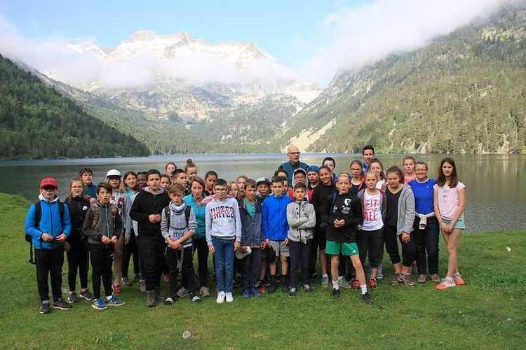 Les 6èmes en classe de découverte dans les Pyrénées randooredon265copier