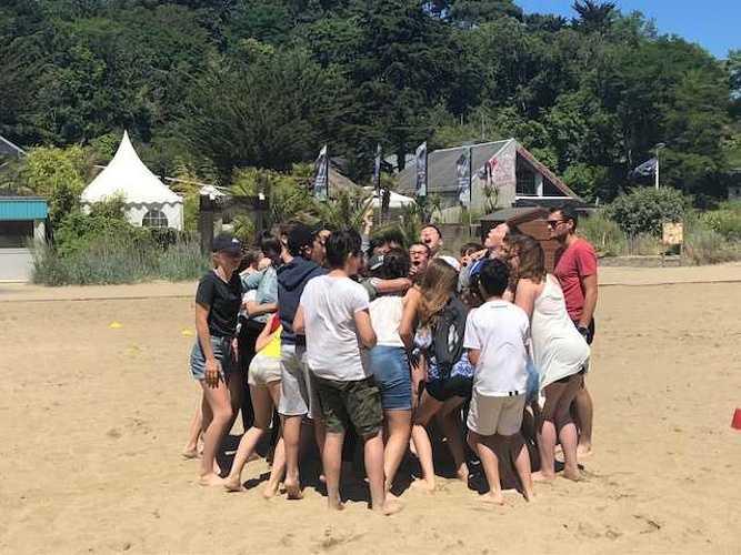 Fin d''année à la plage pour les 5ème A et D image1