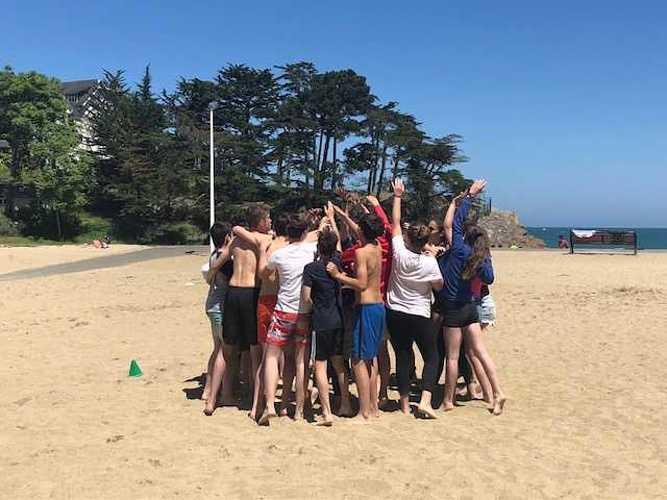 Fin d''année à la plage pour les 5ème A et D image2