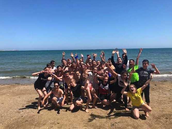Fin d''année à la plage pour les 5ème A et D image3