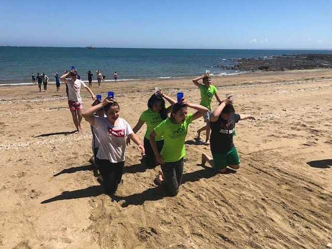 Fin d''année à la plage pour les 5ème A et D image5