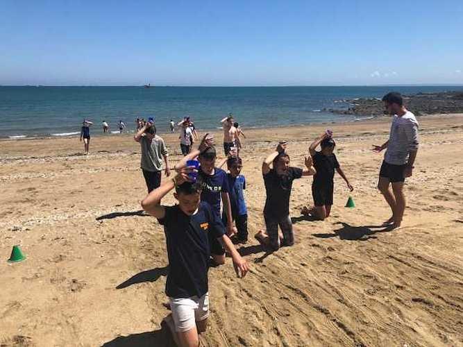 Fin d''année à la plage pour les 5ème A et D image6