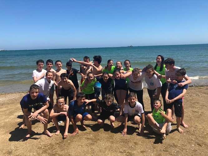 Fin d''année à la plage pour les 5ème A et D 0