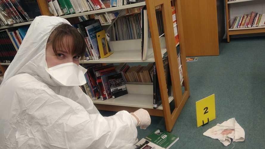 Les lycéens mènent l'enquête photo5