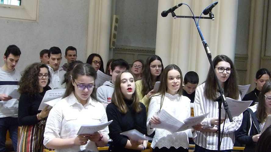 Messe de l'Avent pour les lycéens 0