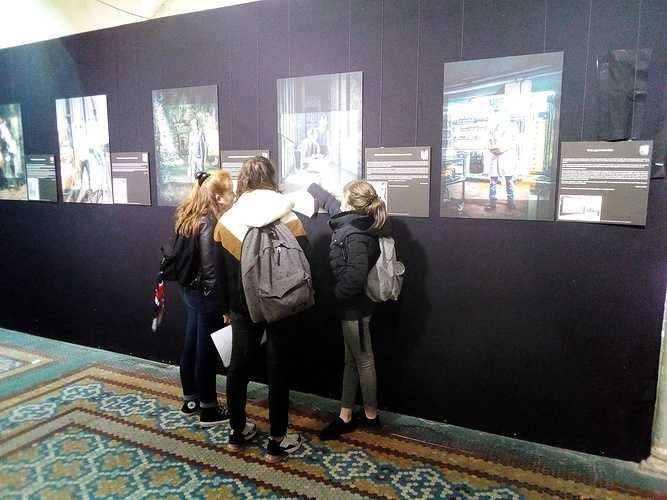 "Visite exposition ""Photo Festival 2020"" en 4ème D 0"