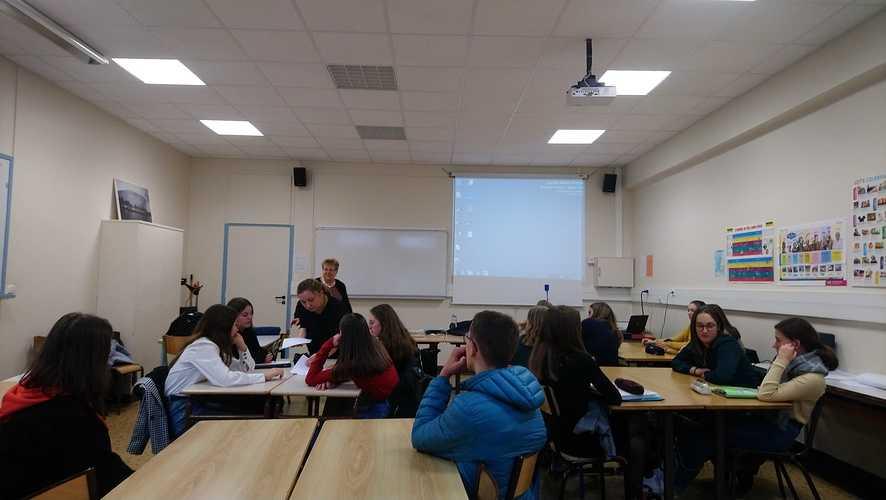 Un projet Erasmus + franco-polonais à St-Pierre ! dsc01031