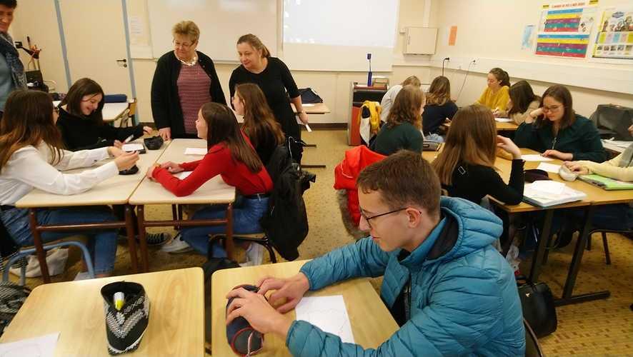 Un projet Erasmus + franco-polonais à St-Pierre ! dsc0105