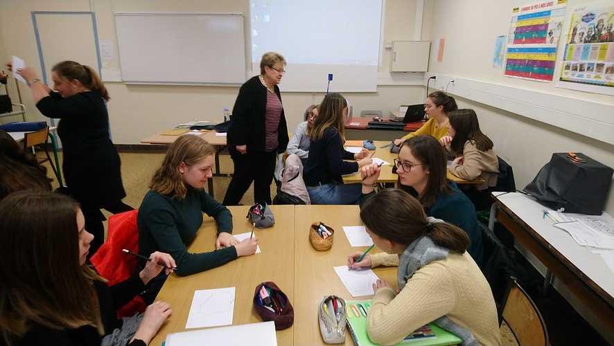 Un projet Erasmus + franco-polonais à St-Pierre ! dsc0106