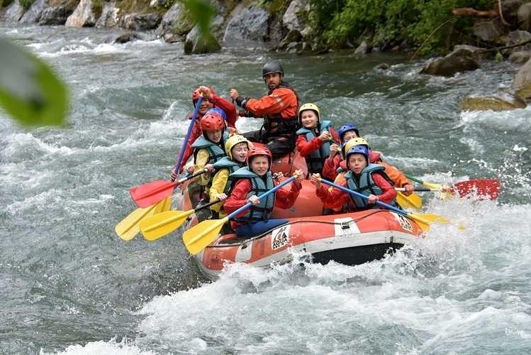Séjour dans les Pyrénées 6ème rafting8