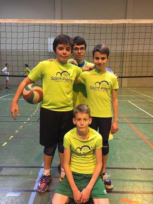 Volley-ball collège volley4e3edec20191