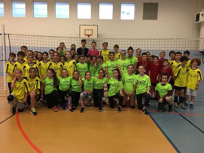Volley-ball collège 0