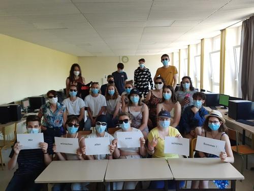 Notre échange avec le Herbart Gymnasium d'Oldenbourg durant la crise sanitaire