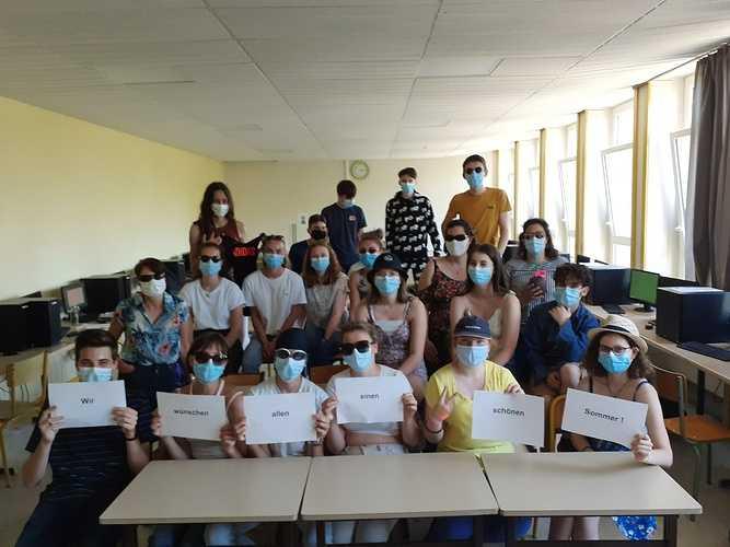 Notre échange avec le Herbart Gymnasium d'Oldenbourg durant la crise sanitaire 0