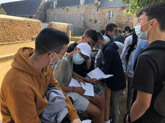 Journée d'intégration des élèves de 2de à Bréhat brehat3